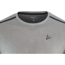 Craft Urban Run LS Wool Top Men dk grey melange